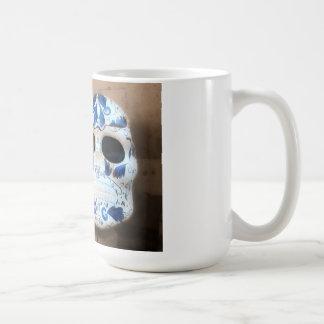 Talavera Skull, San Miguel de Allende, Coffee Mug
