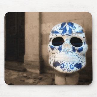 Talavera Skull, San Miguel de Allende, Coffee Mug Mouse Pad