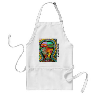 Talavera Virgin Of Guadalupe Blessings Apron