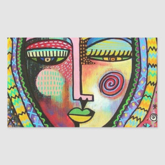 Talavera Virgin of Guadelupe Protection Sticker