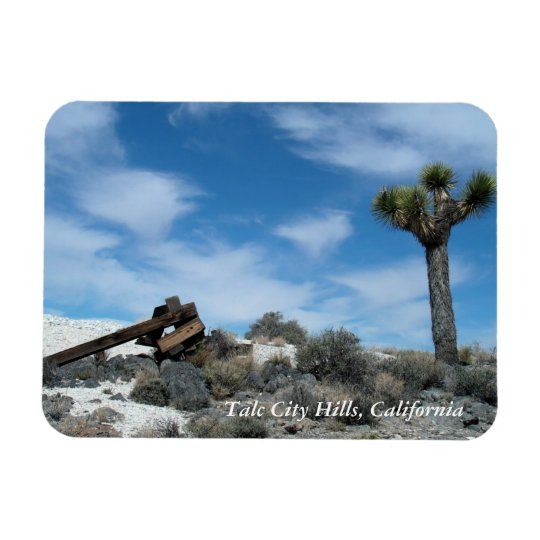 Talc Mine Ruins with Joshua Tree Magnet