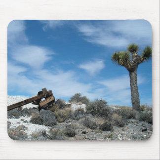Talc Mine Ruins with Joshua Tree Mouse Pad