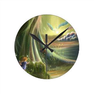 Tale of a kite Wall Clock