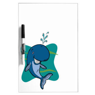 Tale of a Whale Dry-Erase Board