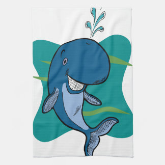 Tale of a Whale Kitchen Towels