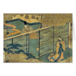 Tale of Genji by Ando,Hiroshige Cards