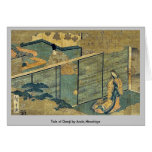 Tale of Genji by Ando,Hiroshige Greeting Cards