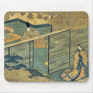 Tale of Genji by Ando,Hiroshige Mouse Pad