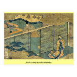 Tale of Genji by Ando,Hiroshige Post Card