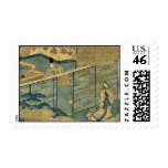 Tale of Genji by Ando,Hiroshige Postage Stamps
