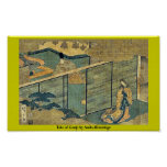 Tale of Genji by Ando,Hiroshige Posters