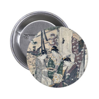 Tale of Ise by Hosoda, Eishi Ukiyoe Pin
