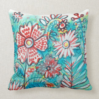 TALE OF WATERCOLOR snow PATTERN PILLOW