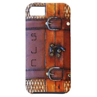 Taleguilla antigua del vintage con iniciales perso iPhone 5 funda