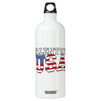 Talent 101 USA Aluminum Water Bottle