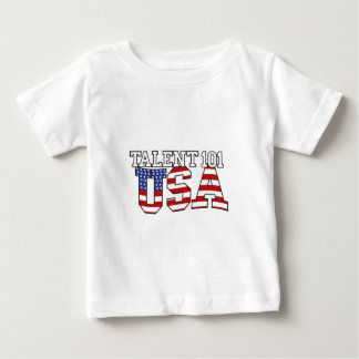 Talent 101 USA Products Baby T-Shirt