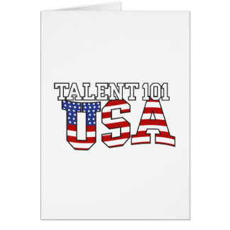 Talent 101 USA Products Card