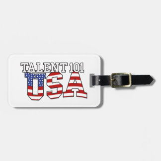 Talent 101 USA Products Luggage Tag