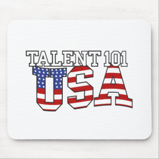 Talent 101 USA Products Mouse Pad