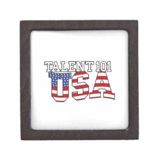 Talent 101 USA Products Premium Trinket Box