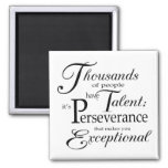 Talent 2 Inch Square Magnet