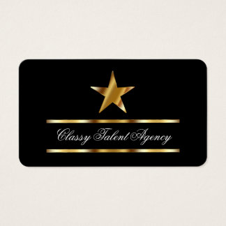 Talent Agency Business Cards