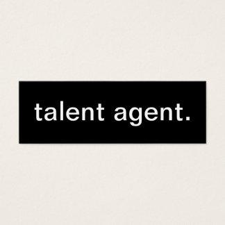 Talent Agent Business Card