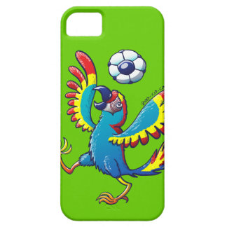 Talented Macaw Bouncing a Soccer Ball on its Head iPhone SE/5/5s Case