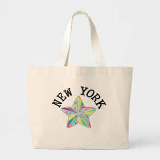 Talented New York Star Large Tote Bag