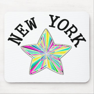 Talented New York Star Mouse Pad