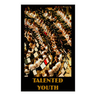 talented youth poster