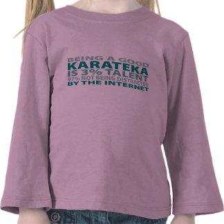 Talento de Karateka el 3 Camisetas