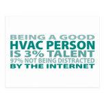 Talento de la persona el 3% de la HVAC Postal