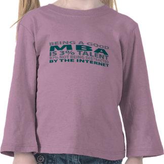 Talento de MBA el 3 Camisetas