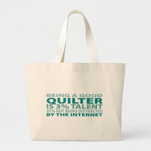 Talento de Quilter el 3% Bolsa Tela Grande