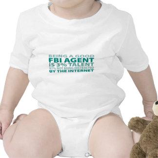 Talento del agente del FBI el 3 Camiseta