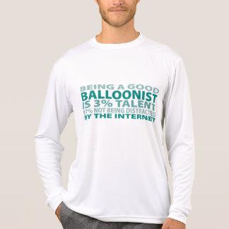 Talento del Balloonist el 3% Camisetas