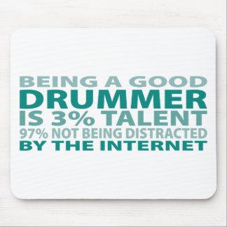 Talento del batería el 3% tapete de raton