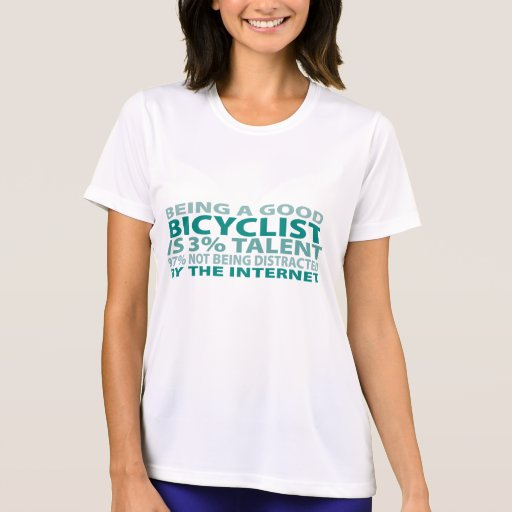 Talento del Bicyclist el 3% Camiseta