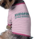 Talento del cirujano el 3% camisas de perritos