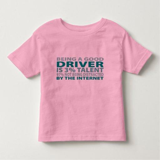 Talento del conductor el 3% tshirts