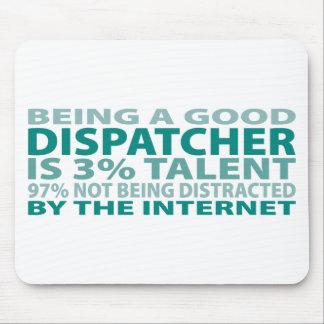 Talento del despachador el 3% tapete de raton