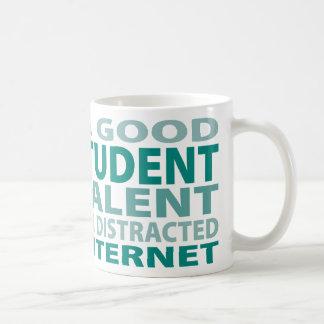 Talento del estudiante de postgrado el 3% taza de café