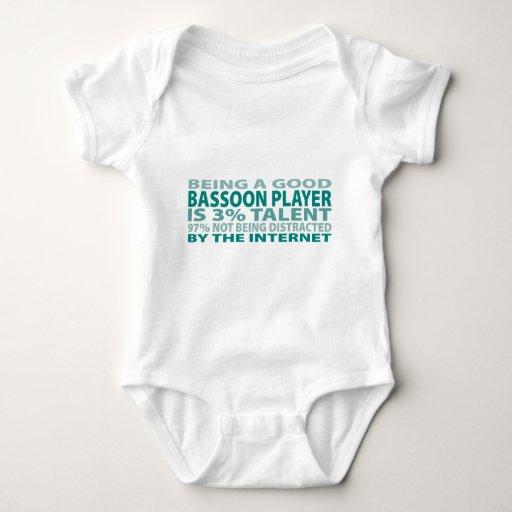 Talento del jugador el 3% del Bassoon Remera