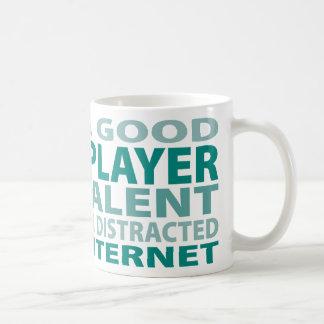 Talento del jugador el 3% del rugbi tazas de café