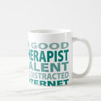Talento del terapeuta de discurso el 3% tazas de café