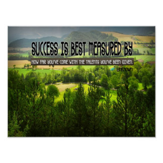 Talents Inspirational Poster