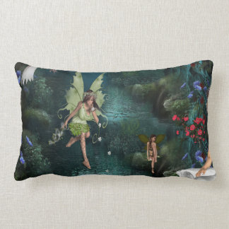 Tales from a fairy kingdom lumbar pillow