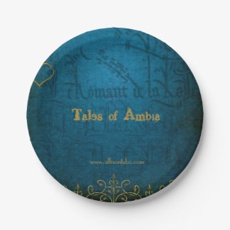 Tales of Ambia Paper Plates
