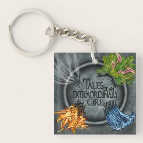 Tales of an Extraordinary Girl keychain